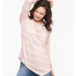 Ricki's | ASYMMETRIC HEM LIGHTWEIGHT KNIT TUNIC